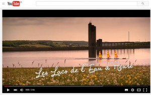 Vidéo présentant les activités et la nature aux alentours du lac de l'eau d'heure